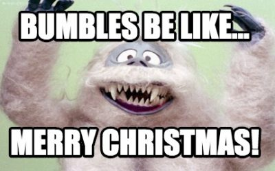 Comedy Bumbles christmas greetings