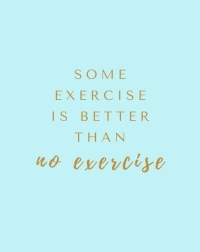 Sayings About Exercise