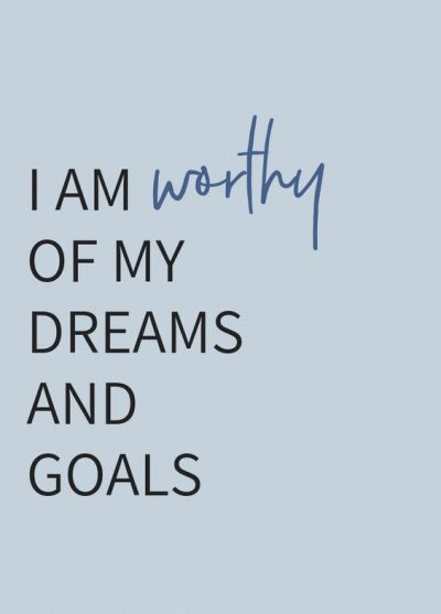 Self Worth Affirmations