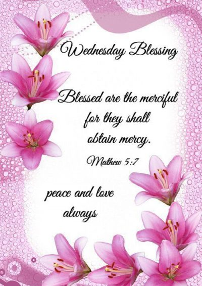 Blessings For Wednesday