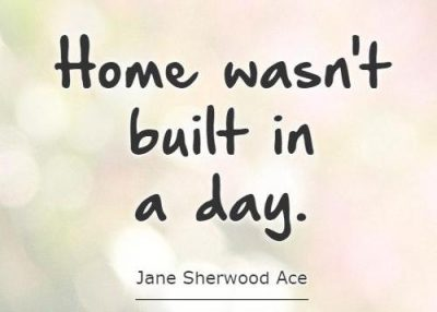 Building A New Home Quotes