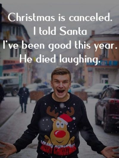 Funny Captions For Christmas
