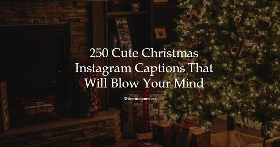 Funny Christmas Captions for Instagram