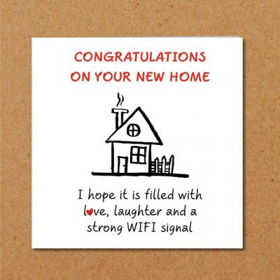 Funny New Home Quotes