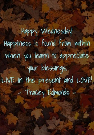 Happy And Blessed Wednesday