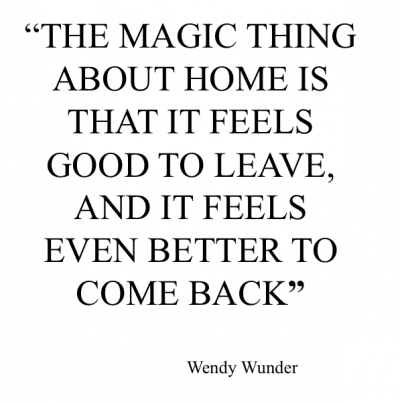 Inspirational Quotes About Home