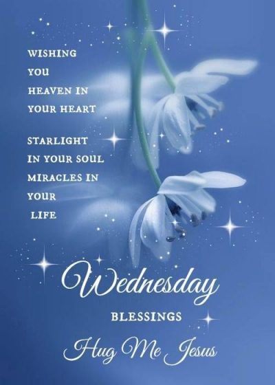 Jesus Blessings for Wednesday Morning