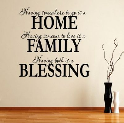 New Home Quote Blessings