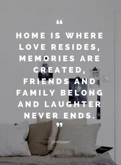 Quotes About Family And Home