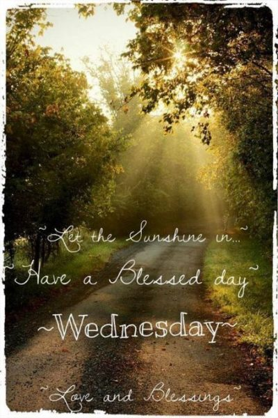 Status For Wednesday Blessings