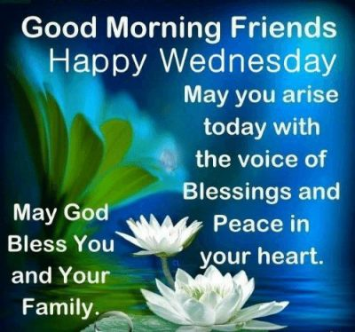 Wednesday Blessings For Friends