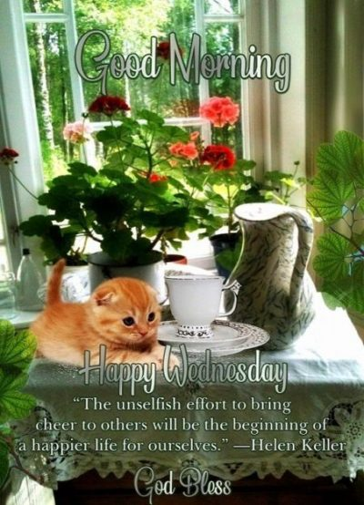 Wednesday Blessings Good Morning