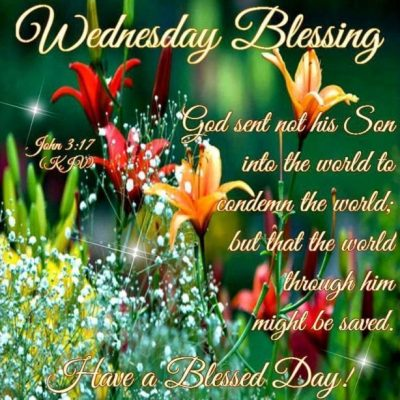 Wednesday Blessings KJV