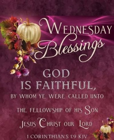 Wednesday Blessings Quote