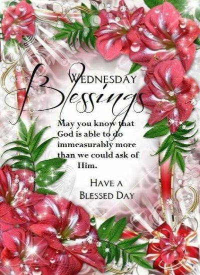 Wednesday Morning Blessings