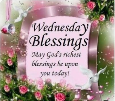 Wishing Blessed Wednesday