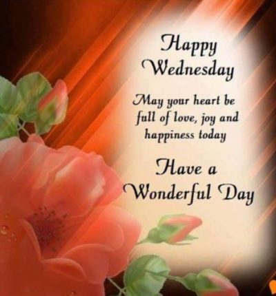 Wonderful Wednesday Blessings