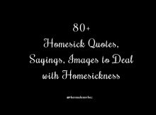 80 Homesick Quotes and Sayings