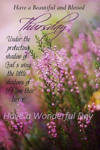 Beautiful Thursday Blessings