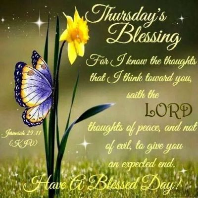 Blessed Thursday Greetings
