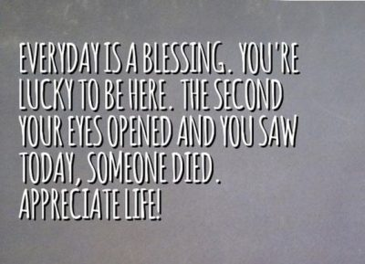 Blessing Picture Quote For Everyday