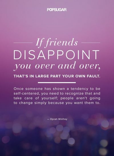 Disappointing Friends Quotes Images