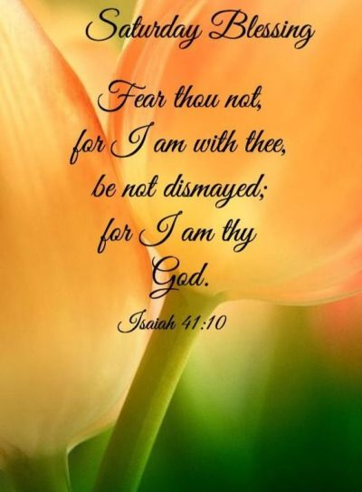 Fee Saturday Blessing Quote