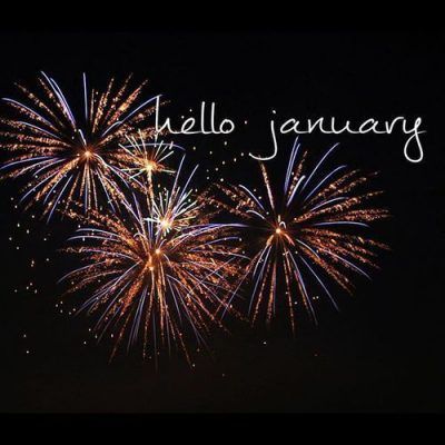 Fireworks Hello January Quotes