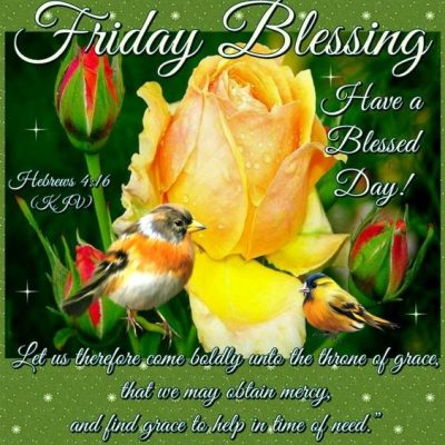 Good Morning Friday Blessings