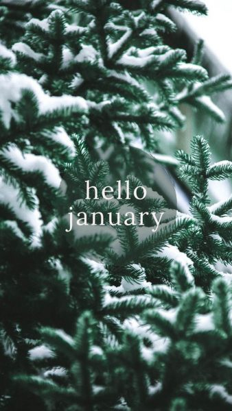 Hello January Aesthetic