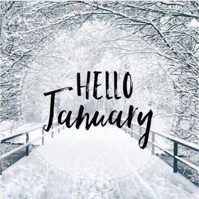 Hello January Winter Photos