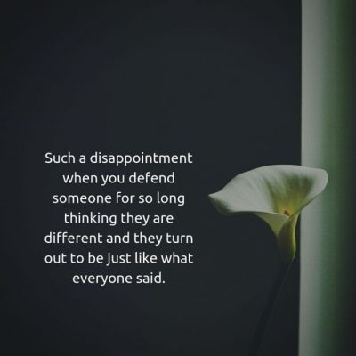 QUotes about Friends Disappointing