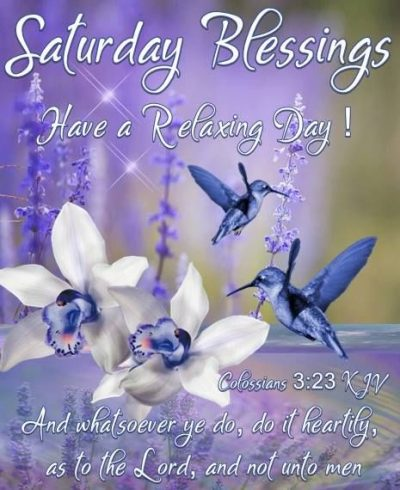 Saturday Blessings Quote