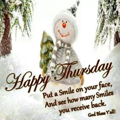 Thursday Blessings For Friends
