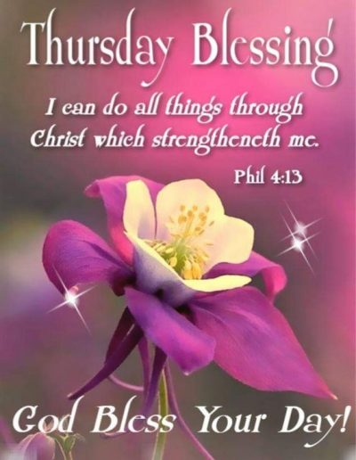 Thursday Blessings Images
