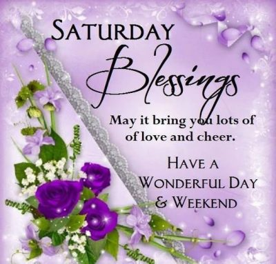 Weekend Blessing Picture Quote
