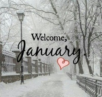 Welcome January Images