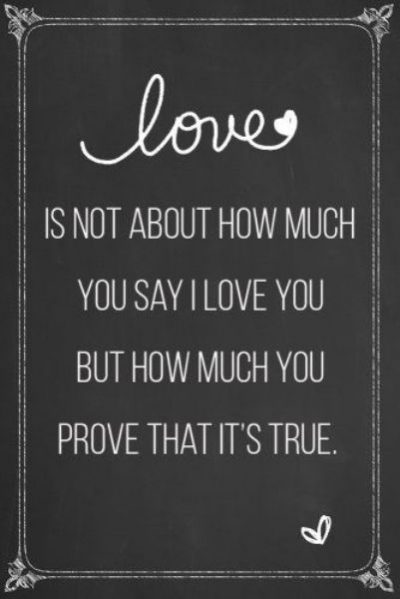 Deep Love Quotations