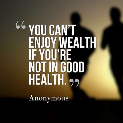 Health is Wealth Quotes Images
