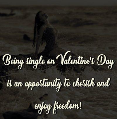 Single Valentine's Day Pic For Facebook