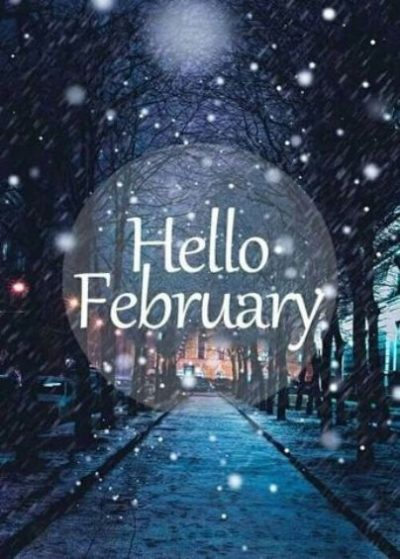 Sweet Hello February Poster