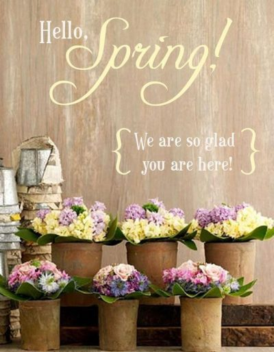 Welcome Spring Img