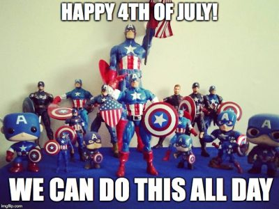 Cartoon Memes For 4th Of July