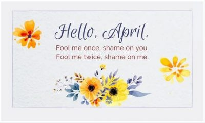 Funny April Quotes