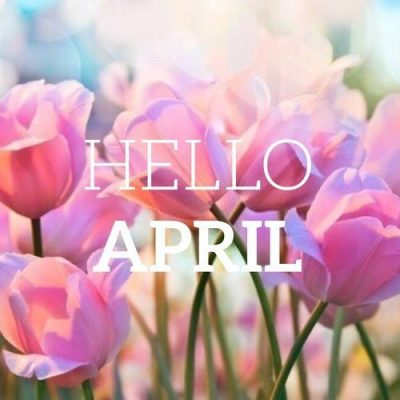 Welcome April Background Pic