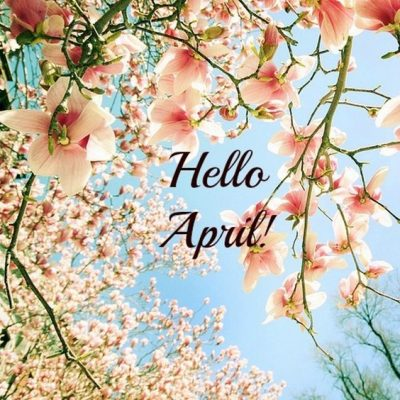 Welcome April Month 2020