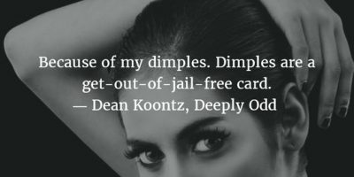 Dimples Quotes