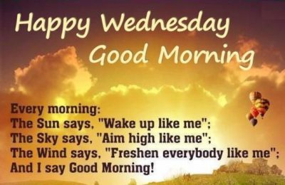 Good Morning Wednesday Funny Quote