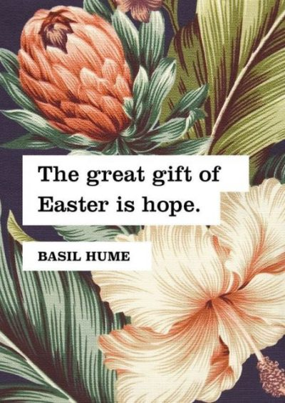 Inspirational Quotes For Easter