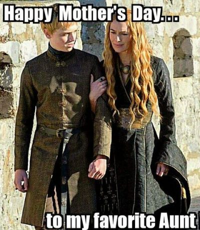 Mothers Day Meme For Aunt